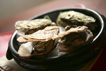 牡蠣メニュー